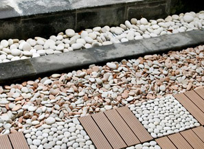 NATURAL STONE APPLICATION <br>ON GARDEN / LANDSCAPING